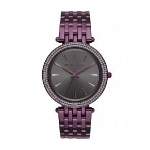 Horlogeband Michael Kors MK3554 Staal Paars 20mm