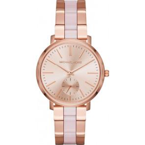 Horlogeband Michael Kors MK3661 Staal Rosé 18mm