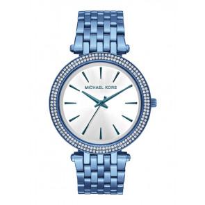 Horlogeband Michael Kors MK3675 Staal Blauw 20mm