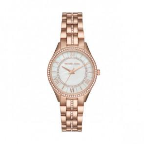 Horlogeband Michael Kors MK3716 Staal Rosé