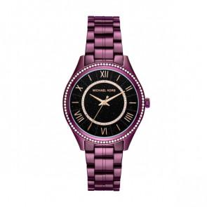 Horlogeband Michael Kors MK3724 Staal Paars 18mm