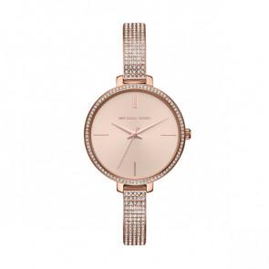 Horlogeband Michael Kors MK3785 Staal Rosé
