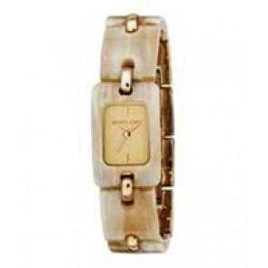 Horlogeband (Band + Kastcombinatie) Michael Kors MK4123 Kunststof/Plastic Bi-Color 18mm