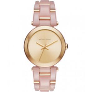 Horlogeband Michael Kors MK4316 Kunststof/Plastic Roze 21mm