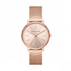 Horlogeband Michael Kors MK4340 Staal Rosé 18mm