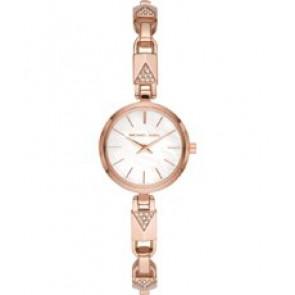Horlogeband Michael Kors MK4440 Roestvrij staal (RVS) Rosé 7mm