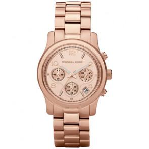 Horlogeband Michael Kors MK5128 Staal Rosé 20mm