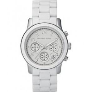 Horlogeband Michael Kors MK5423 Staal Wit 20mm