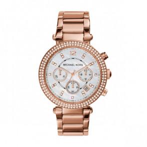 Michael Kors horlogeband MK5491 / 11XXXX Staal Rosé