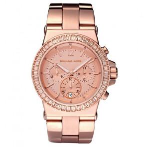 Horlogeband Michael Kors MK5586 Staal Rosé