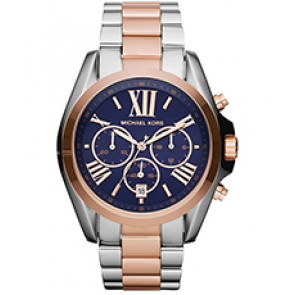 Horlogeband Michael Kors MK5606 Staal Bi-Color 22mm