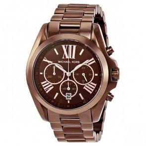 Horlogeband Michael Kors MK5628 Staal Bruin