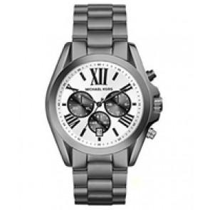 Horlogeband Michael Kors MK5952 Staal Antracietgrijs 22mm