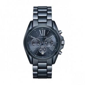 Horlogeband Michael Kors MK6248 Leder Blauw 20mm