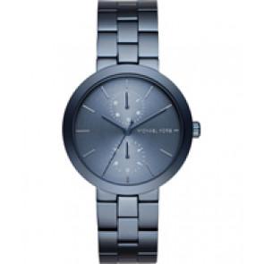 Horlogeband Michael Kors MK6410 Staal Blauw 18mm