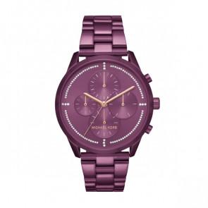 Horlogeband Michael Kors MK6523 Staal Paars 20mm