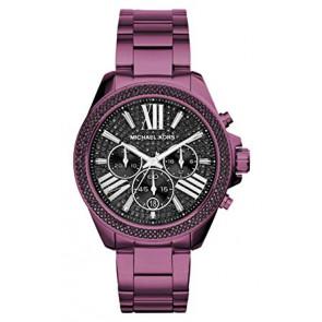 Horlogeband Michael Kors MK6540 Staal Paars 20mm