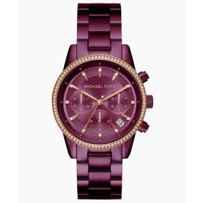 Horlogeband Michael Kors MK6542 Staal Paars 18mm