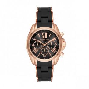 Horlogeband Michael Kors MK6580 Staal Zwart 20mm