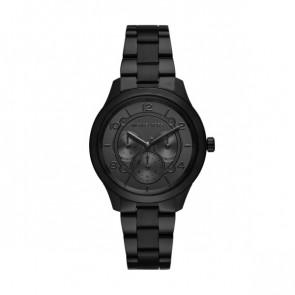 Horlogeband Michael Kors MK6608 Staal Zwart 18mm