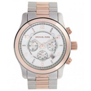 Horlogeband Michael Kors MK8176 Staal Bi-Color 24mm