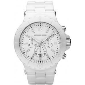 Horlogeband Michael Kors MK8177 Keramiek Wit 26mm