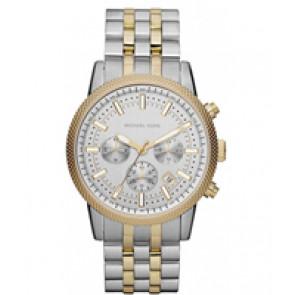Horlogeband Michael Kors MK8238 Staal Bi-Color 22mm