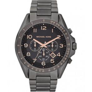 Horlogeband Michael Kors MK8255 Staal Antracietgrijs 24mm
