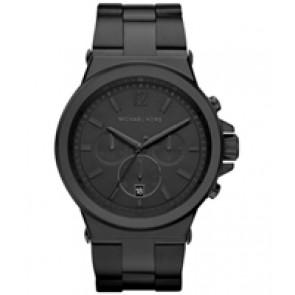 Horlogeband Michael Kors MK8279 Staal Zwart 28mm