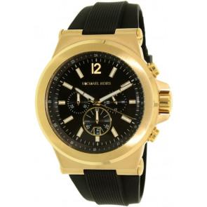 Horlogeband Michael Kors MK8325 Rubber Zwart 13mm