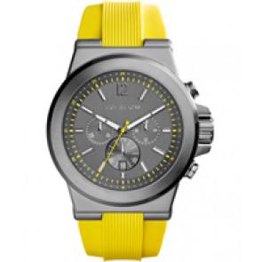 Horlogeband Michael Kors MK8356 Silicoon Geel 28mm
