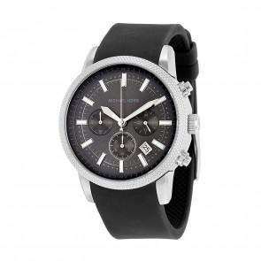 Horlogeband Michael Kors MK8409 Kunststof/Plastic Antracietgrijs