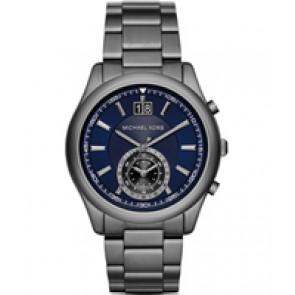 Horlogeband Michael Kors MK8418 Staal Antracietgrijs 22mm