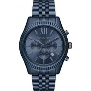Horlogeband Michael Kors MK8480 Staal Blauw 22mm