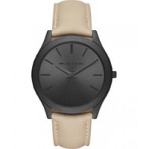 Horlogeband Michael Kors MK8510 Leder Beige 22mm