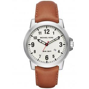Horlogeband Michael Kors MK8531 Leder Bruin 22mm