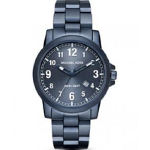Horlogeband Michael Kors MK8533 Staal Blauw 22mm