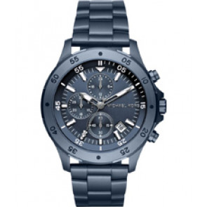 Horlogeband Michael Kors MK8571 Staal Blauw 22mm