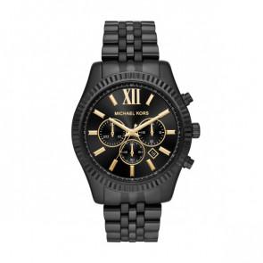 Horlogeband Michael Kors MK8603 Staal Zwart