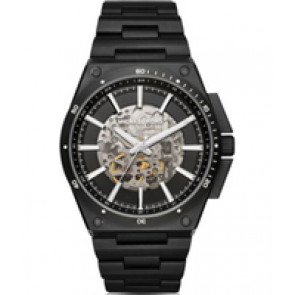 Horlogeband Michael Kors MK9023 Staal Zwart 27mm