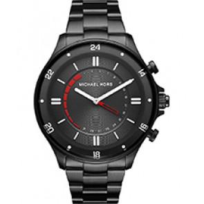 Horlogeband Michael Kors MKT4015 Staal Zwart 20mm