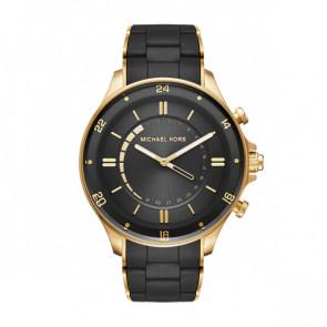 Horlogeband Michael Kors MKT4017 Staal Zwart 22mm