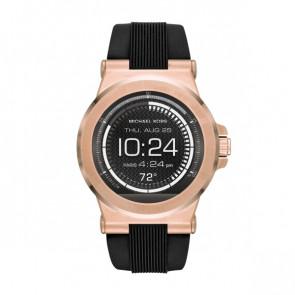 Horlogeband Michael Kors MKT5010 Rubber Zwart