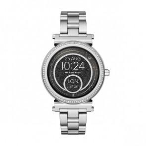 Horlogeband Michael Kors MKT5020 Staal 18mm
