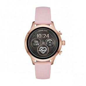 Horlogeband MKT5048 Silicoon Roze 18mm