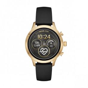 Horlogeband MKT5053 Silicoon Zwart 18mm