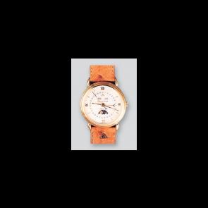 Horlogeband Maurice Lacroix ML655-000027 Leder Lichtbruin 19mm