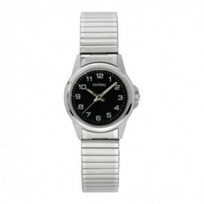 Olympic horlogeband OL26DSS107 Staal Zilver 15mm