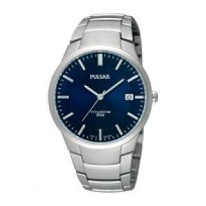 Horlogeband Pulsar VJ42 X021 / PS9009X1 / PS9011X1 / PS9013X1 / PH280X Titanium Grijs