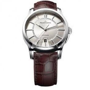 Horlogeband Maurice Lacroix PT6148-SS001-130 / ML550-005 Krokodillenleer Bruin 20mm